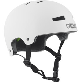TSG Evolution Injected Color Bike Helmet white